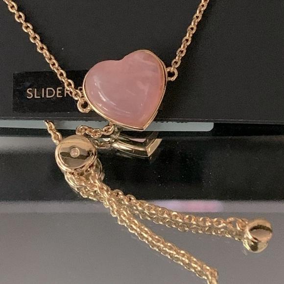 Coach- New Heart rise quartz slider bracelet